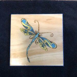 Designer original .. dragonfly's symbolise New Beginnings ...